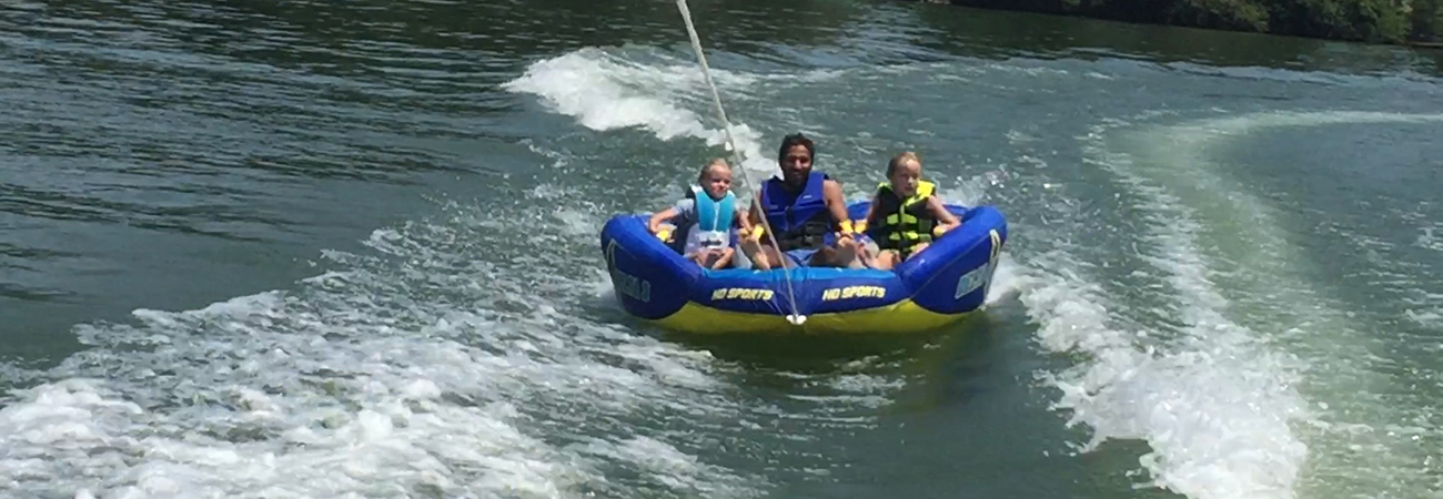 kids tubing lake tellico